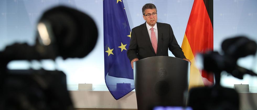 Außenminister Sigmar Gabriel