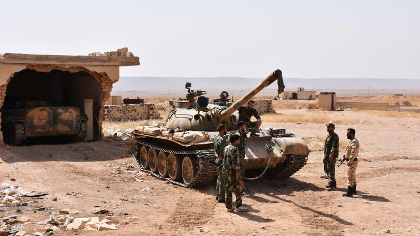 Syrien: Assads Armee verkündet Feuerpause