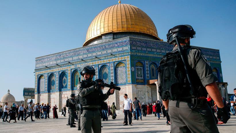 Israel: Tempelberg für junge Männer gesperrt
