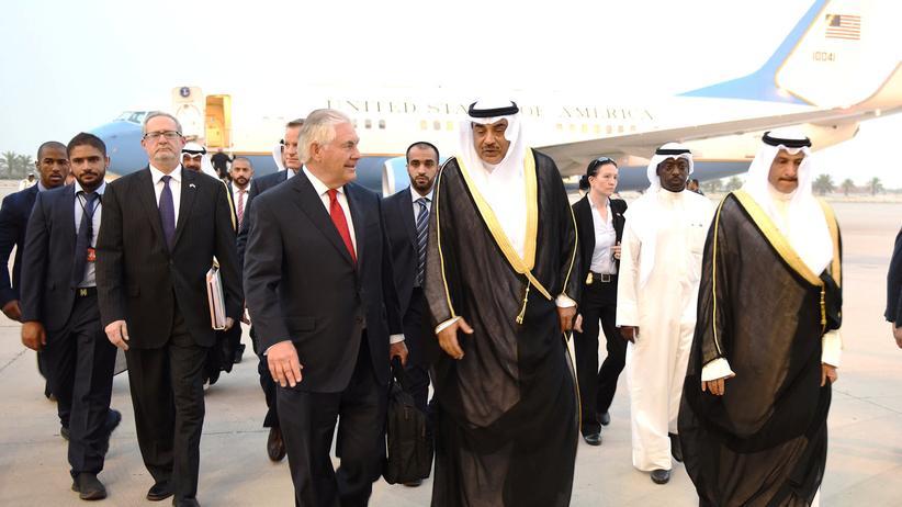 Katar-Krise: USA fürchten um ihre militärische Präsenz