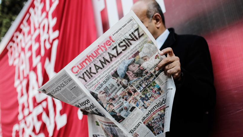 Istanbul: Demo vor