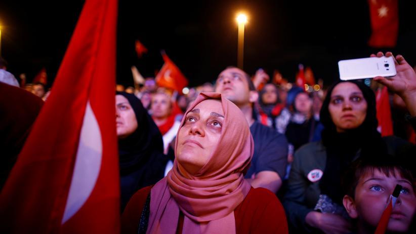 Ankara: Anhänger von Recep Tayyip Erdoğan in Ankara