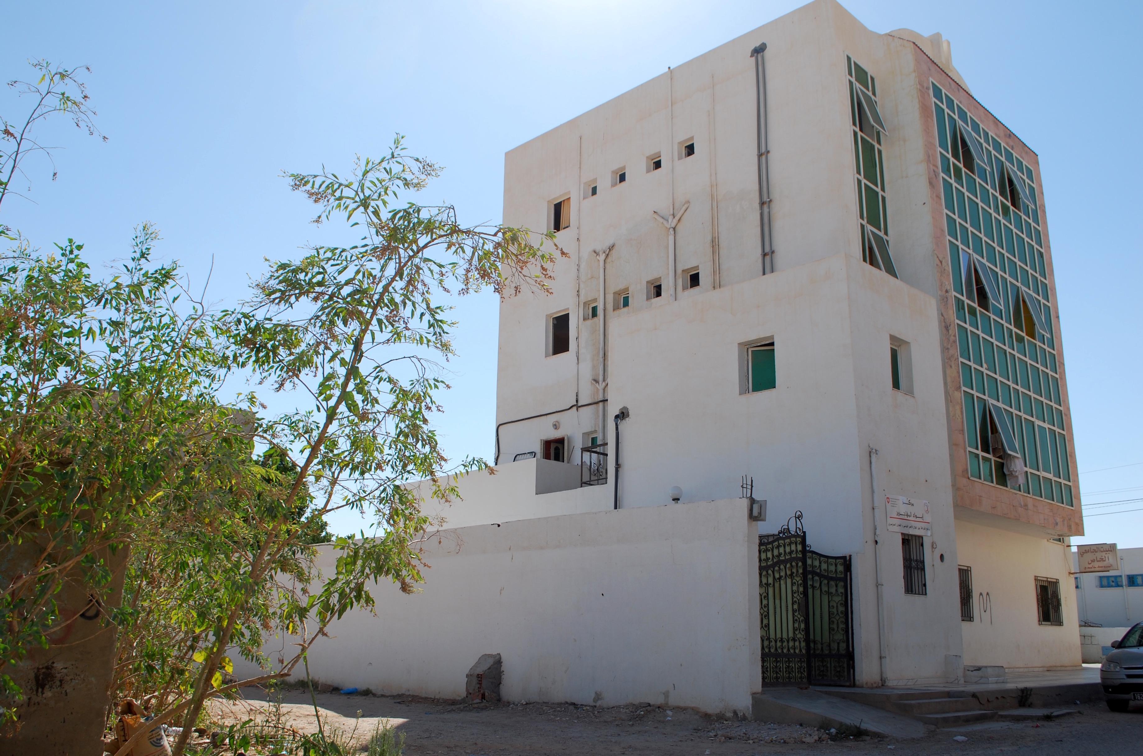 Migranten in Tunesien: Eines der beiden Aufnahmezentren Le Foyer in Medenine