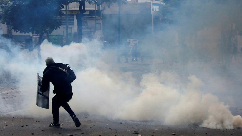 Ausschreitungen in Caracas
