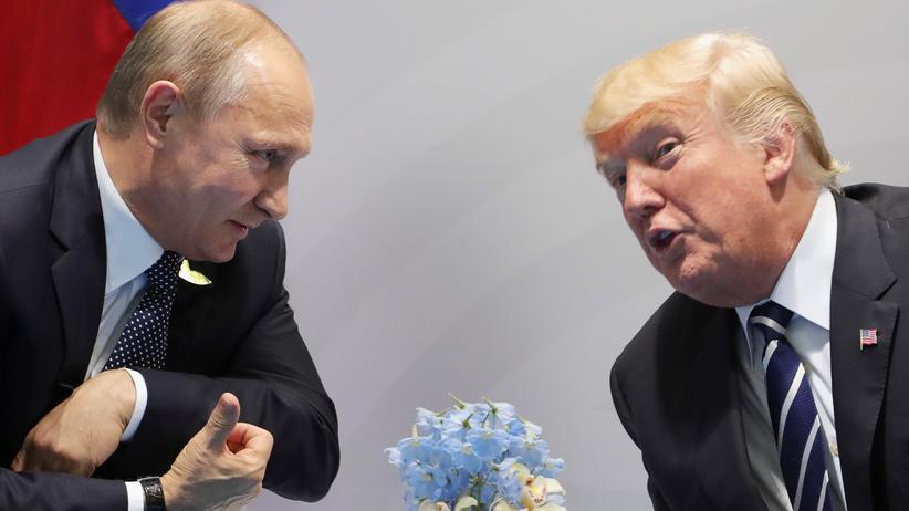 Enthüllt: Trump traf Putin zu Geheim-Meeting