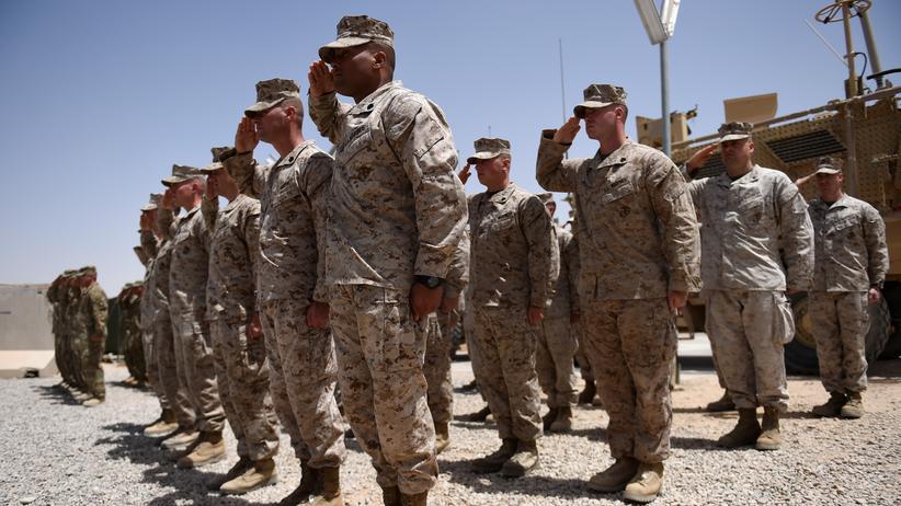Afghanistan: US-Marines in der afghanischen Provinz Helmand