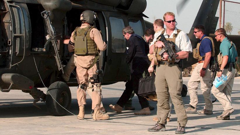Massaker im Irak: Urteile gegen vier frühere Blackwater-Söldner aufgehoben