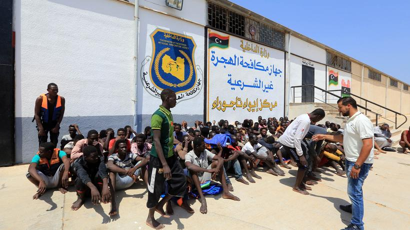 Flüchtlinge Libyen