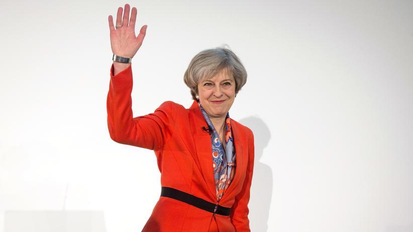 Großbritannien: Großbritanniens Premierministerin Theresa May