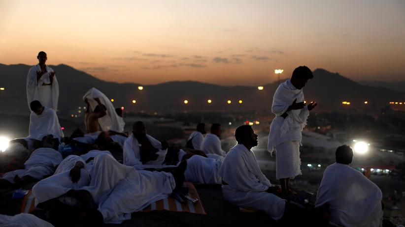 Gläubige in Mekka