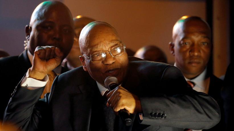 Jacob Zuma: Südafrikas Präsident übersteht Misstrauensvotum