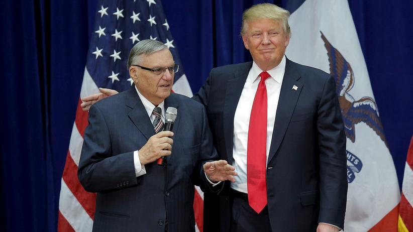 Trump begnadigt umstrittenen Sheriff