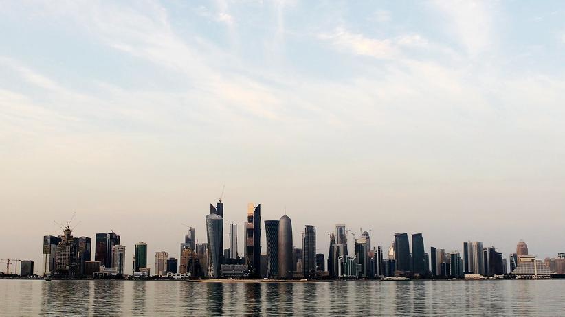Golf-Krise: Die Skyline der katarischen Hauptstadt Doha