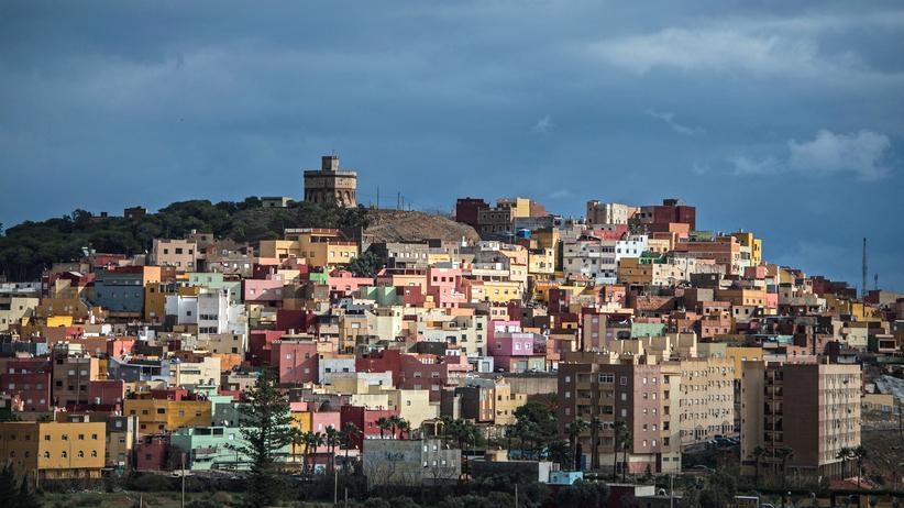Melilla: Der Stadtteil La Cañada