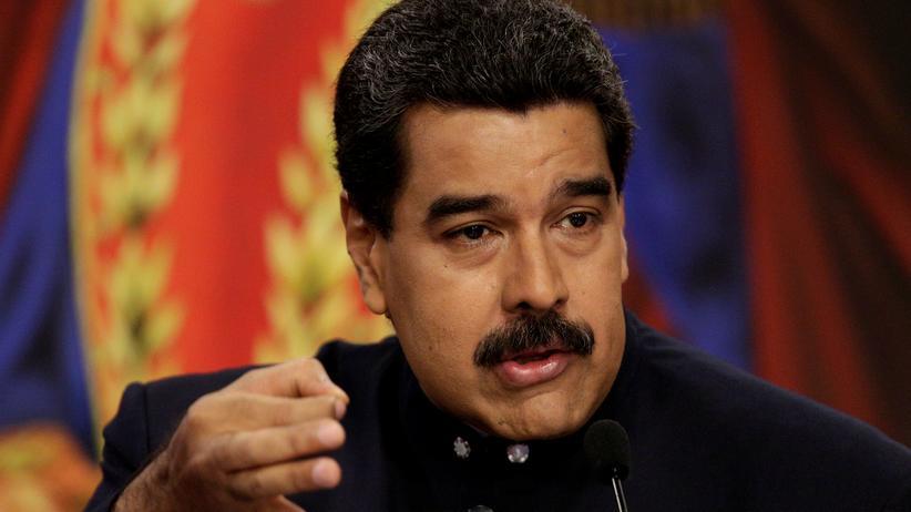 Nicolás Maduro: Nicolás Maduro in Caracas