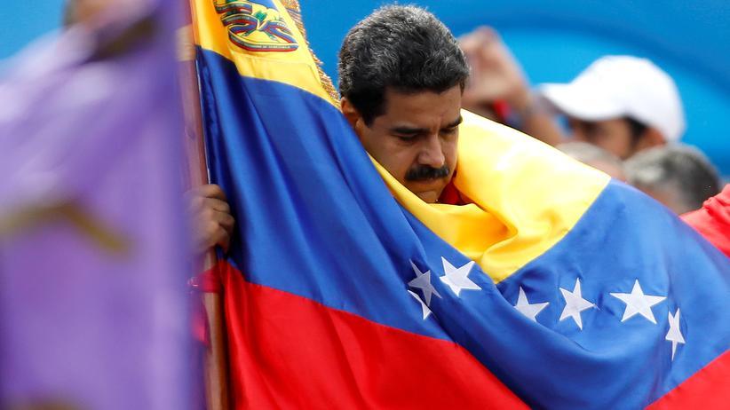 Nicolás Maduro: Nicolas Maduro, Präsident Venezuelas.