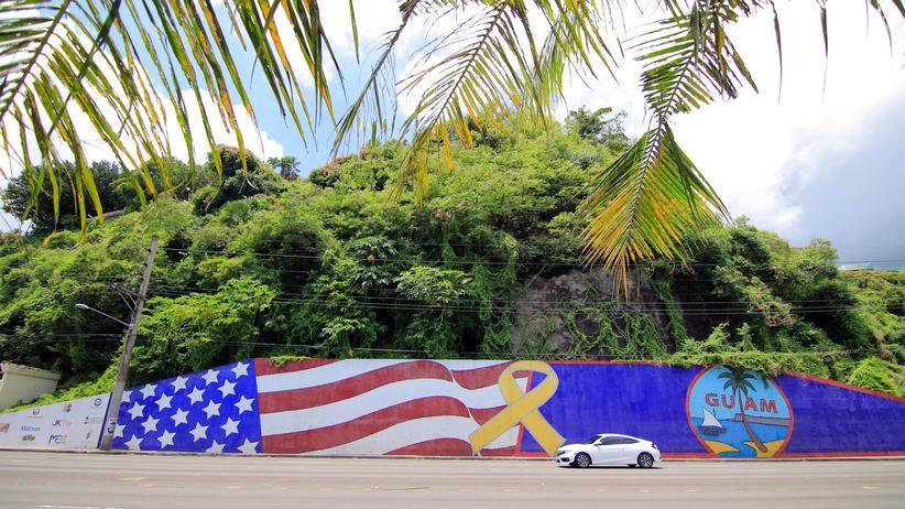 Nordkorea-Konflikt: Nachmittagsverkehr auf der Insel Guam. Entscheidet sich hier im Pazifik der Konflikt zwischen Nordkorea und den USA?