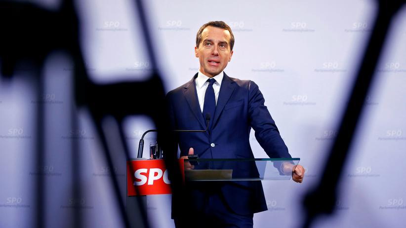 Wahlen in Österreich: Der österreichische Bundeskanzler Christian Kern (SPÖ) im Oktober 2016