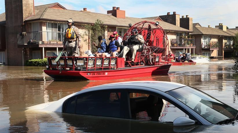 Hurrikan Harvey: Mexiko und Venezuela bieten USA Fluthilfe an