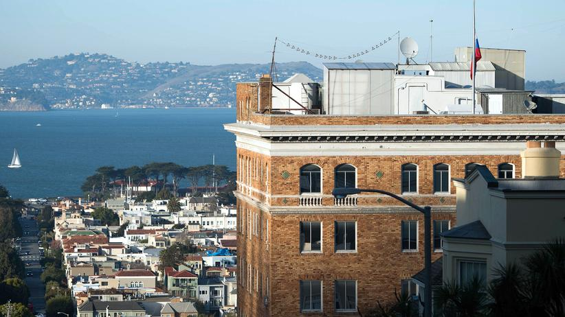 USA ordnen Schließung von russischem Konsulat in San Francisco an