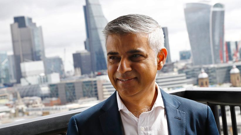 Sadiq Khan London