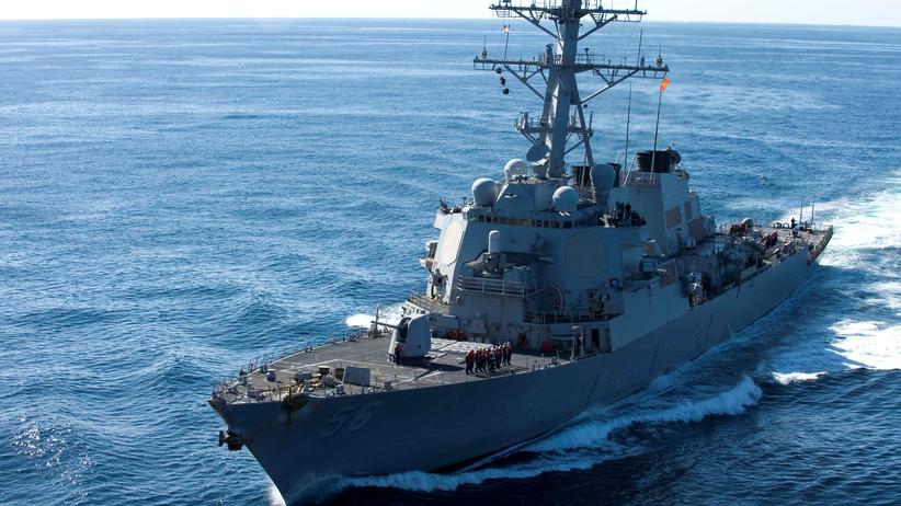 Südchinesisches Meer: China kritisiert Seemanöver von US-Zerstörer