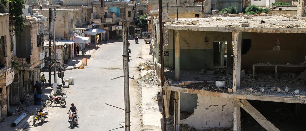 Syrien Homs Waffenruhe