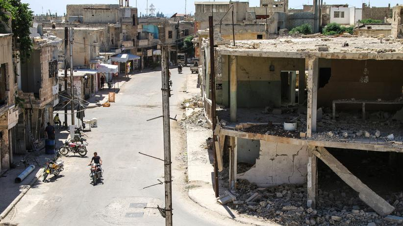 Syrien Homs Waffenruhe