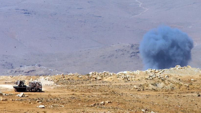 Carla Del Ponte: An der syrischen Grenze zum Libanon, Ende Juli 2017