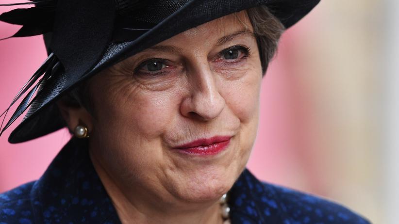 Theresa May: Die britische Premierministerin Theresa May Ende Juli während eines Besuchs in Belgien