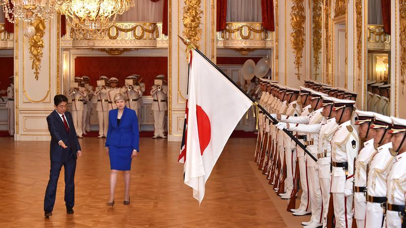 Theresa May Japan