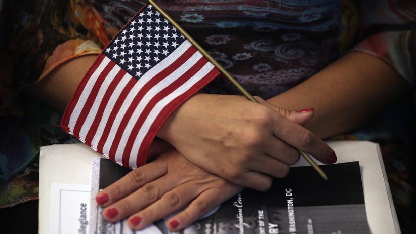USA: US-Präsident Donald Trump will die legale Einwanderung in die USA erschweren.