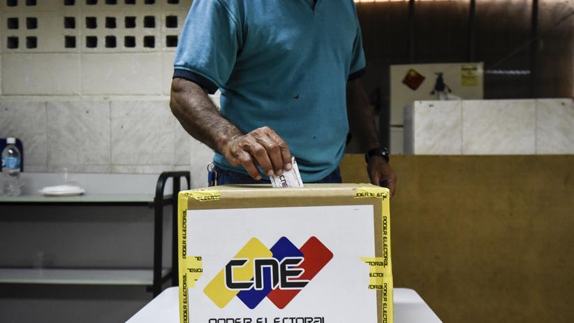Venezuelas verfassunggebende Versammlung tritt in Caracas zusammen