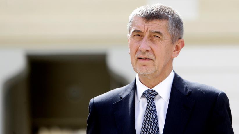 Tschechien: Der ehemalige Finanzminister Tschechiens, Andrej Babiš