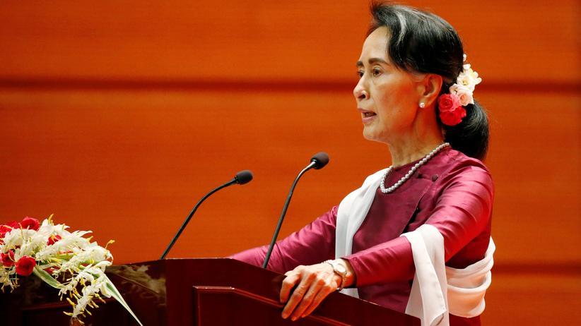 Myanmar: Aung San Suu Kyi verurteilt erstmals Gewalt gegen Rohingya