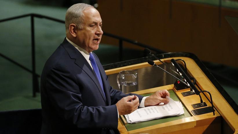 Vereinte Nationen: Israels Präsident Benjamin Netanjahu hat den UN vorgeworfen, israelfeindlich zu sein und dem Iran gedroht.