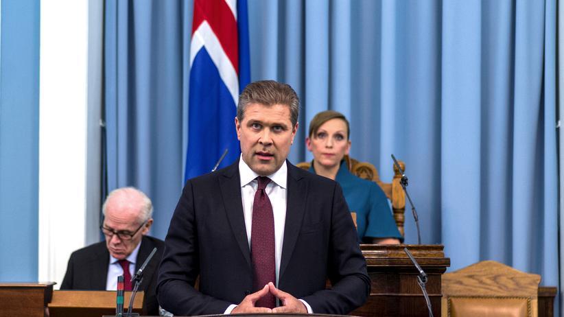 Island: Regierungschef fordert Neuwahlen