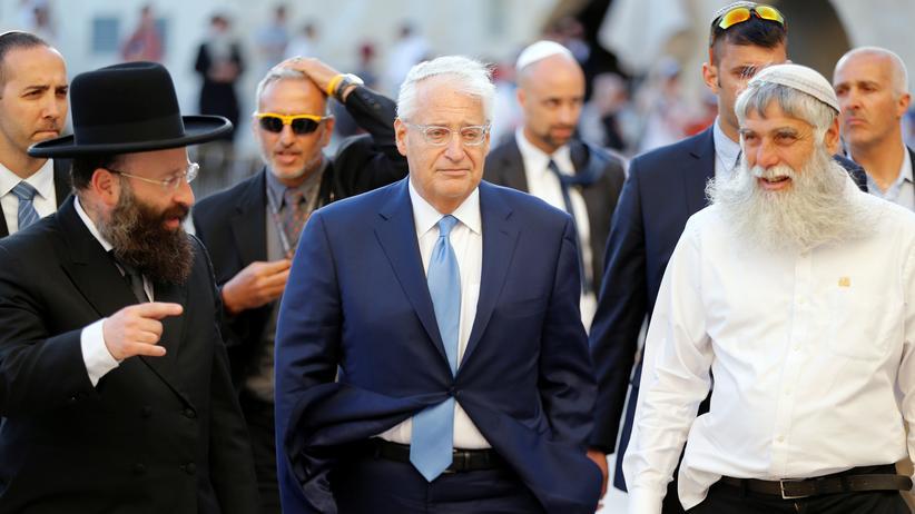 David Friedman: David Friedman bei einem Besuch in Jerusalem, kurz nachdem er zum US-Botschafter in Israel ernannt wurde