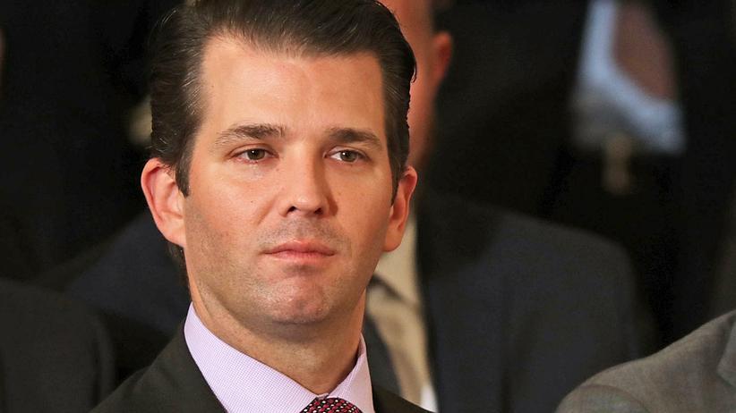Russland-Affäre: Trump-Sohn zu Treffen mit russischer Anwältin befragt