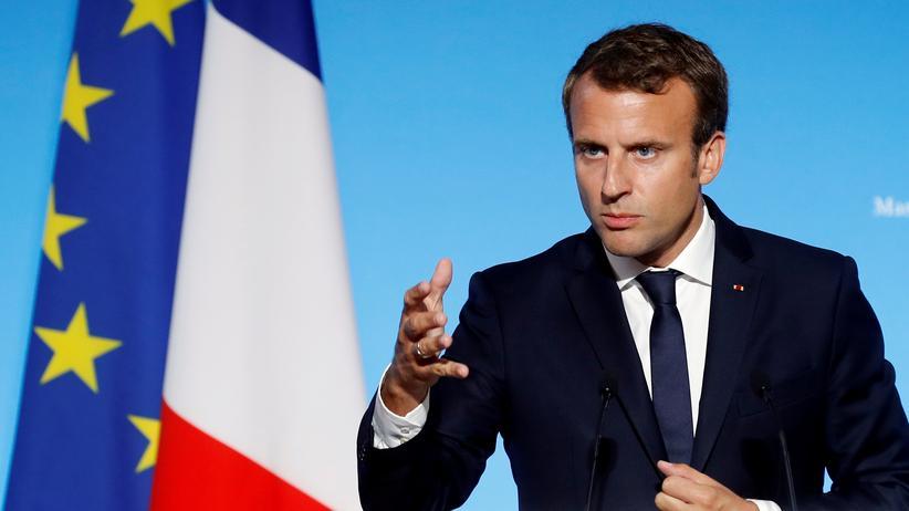 Frankreich: Ablenkung à la Macron