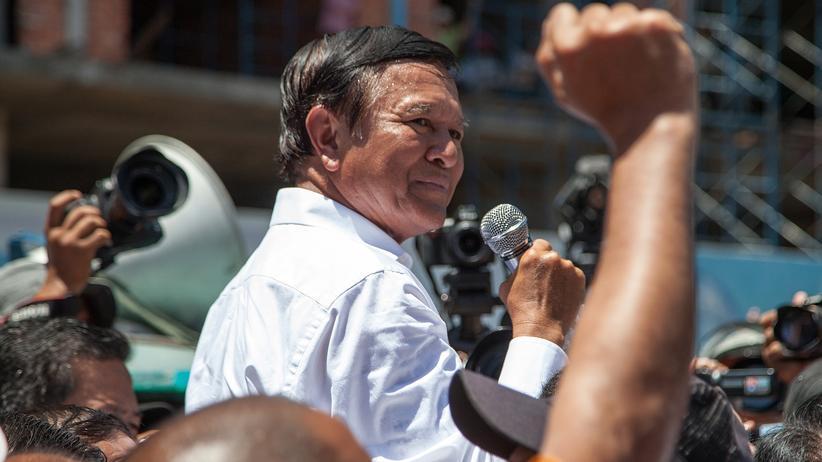 Kambodscha: Kambodschas Oppositionsführer festgenommen