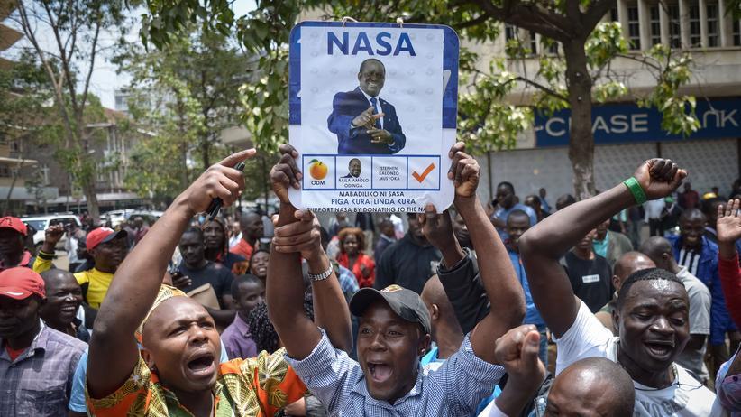 Kenias Oberstes Gericht annulliert Präsidentenwahl