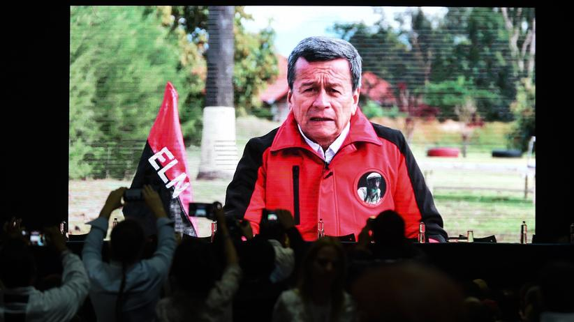 Kolumbien: Regierung vereinbart Waffenruhe mit letzter Rebellengruppe