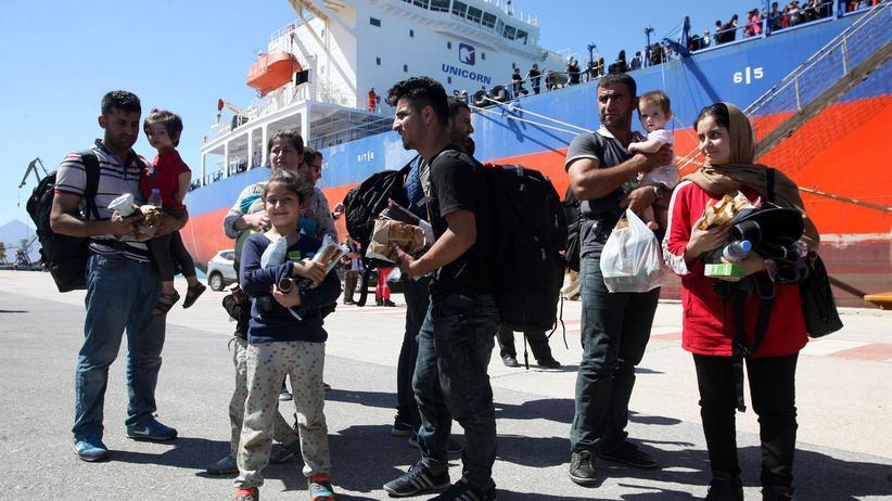 Kreta Migranten Rettung
