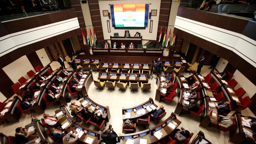 Kurden Nordirak Parlament