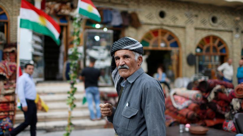 Referendum in Nordirak: Ein kurdischer Mann in Erbil