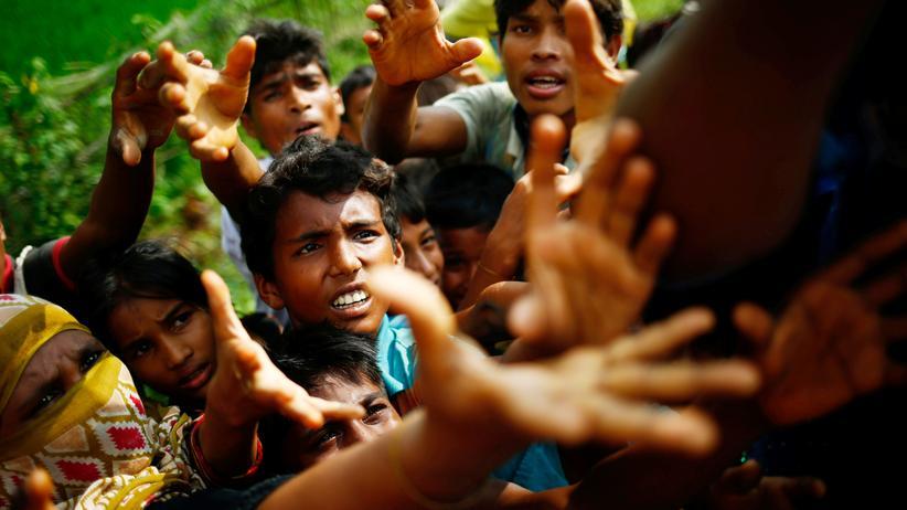 Myanmar: Geflüchtete Rohingya in Bangladesch.