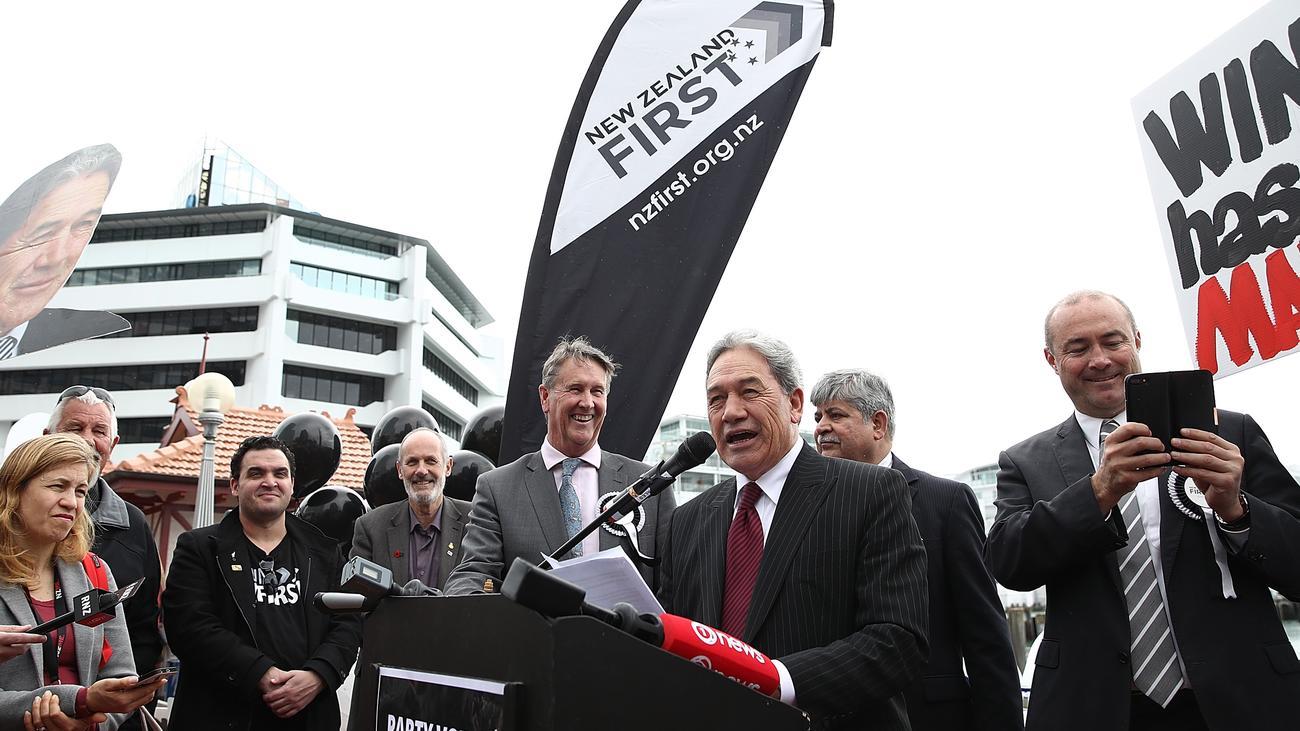Neuseeland Twitter: Neuseeland: Rechtspopulisten Könnten In Regierung Kommen