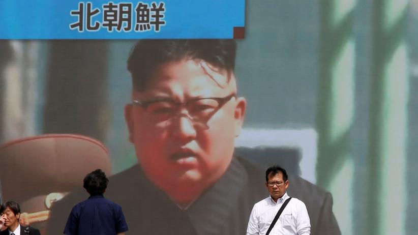 Pjöngjang: In Japan berichten die Medien über den erneuten Raketentest aus Nordkorea.