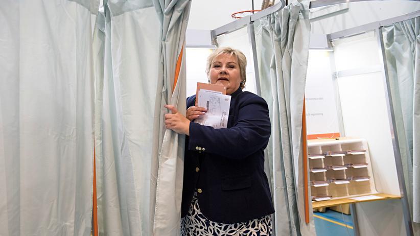 Norwegen: Konservatives Regierungsbündnis gewinnt Wahl